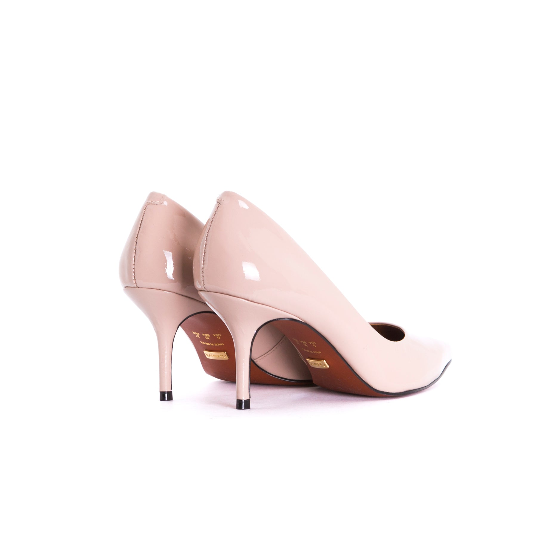 Officia Nude Patent Pumps
