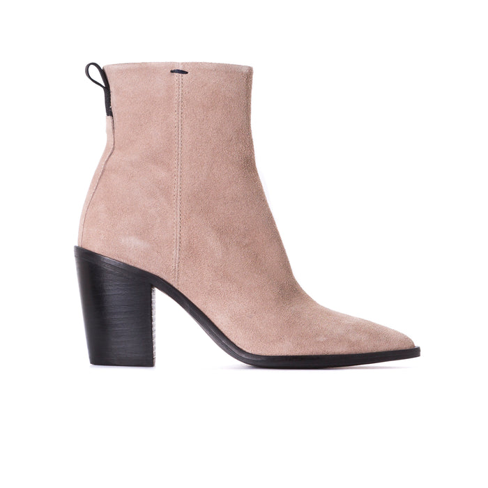 Porter Taupe Suede Booties