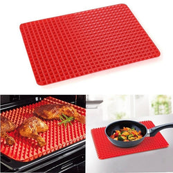 Non Stick Raised Pyramid Shaped Silicone Baking Mat