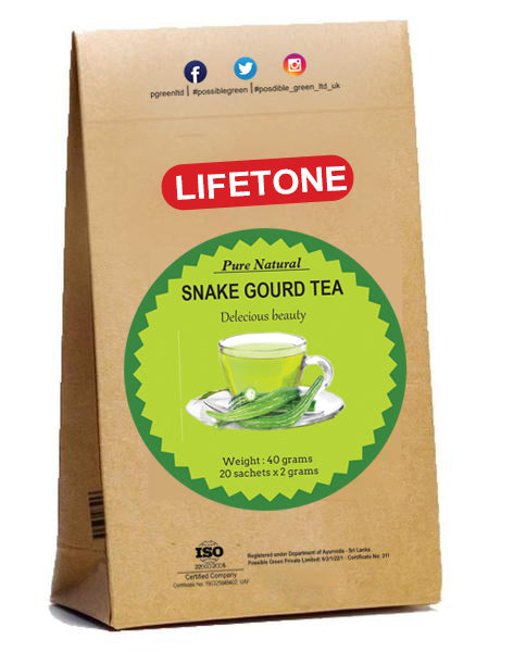 Snake Gourd Tea|Rare cooling herbal tea| Detox tea for weight loss|20 teabags