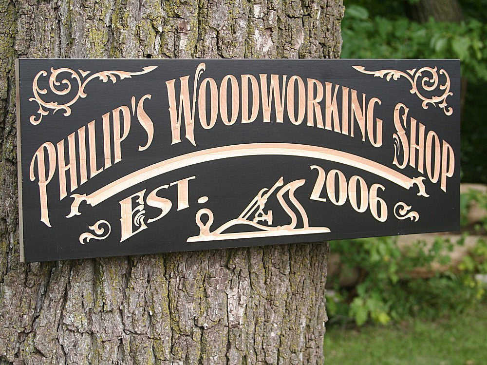 Custom Workshop Sign