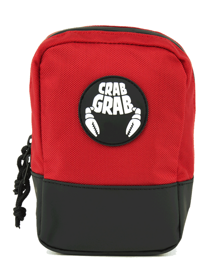 Crab Grab Binding Bag Red