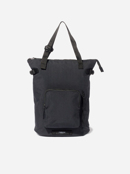 CONVERTIBLE BACKPACK TOTE Jet Black Lug