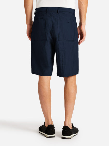 ACADIA SHORT NAVY GREY LABEL