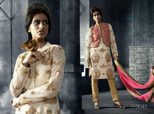Indian Pakistani Designer Anarkali Salwar Kameez Suit Party Rama 9034