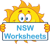 NSW Special Needs Worksheets for NSW completed using NSW Foundation Font