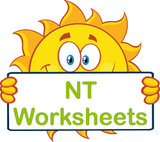 NT Special Needs worksheets and flashcards for NT completed using VIC Modern Cursive Font