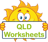QLD Special Needs Worksheets and Flashcards for QLD completed using QLD Modern Cursive Font