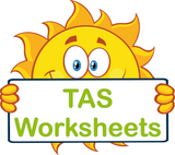 TAS Beginner Font Special Needs Worksheets and Flashcards completed using TAS Beginner Font