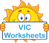 VIC Special Needs Worksheets and Flashcards completed using VIC Modern Cursive Font