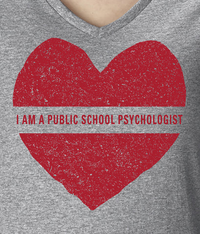 I AM A PUBLIC SCHOOL PSYCHOLOGIST