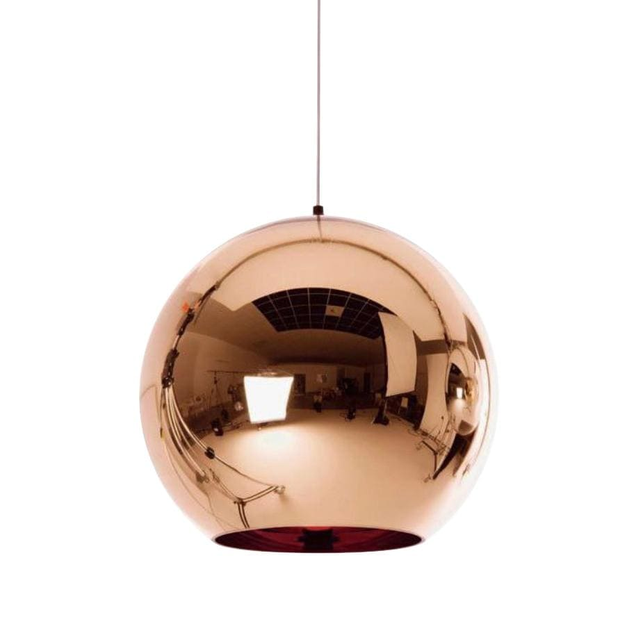 Luna Copper (S) 30cm | Mirror Pendant Light - Home Cartel ®