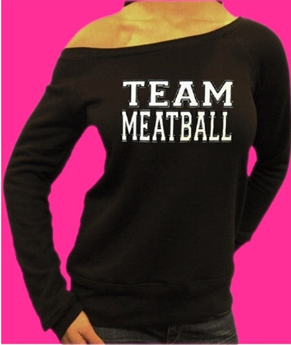 Team Meatball Off The Shoulder