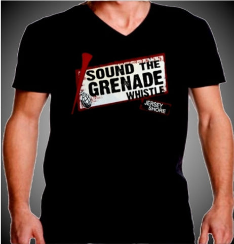 Sound The Grenade Whistle Men's V-Neck