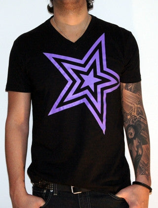 Pauly D Black With Purple Star