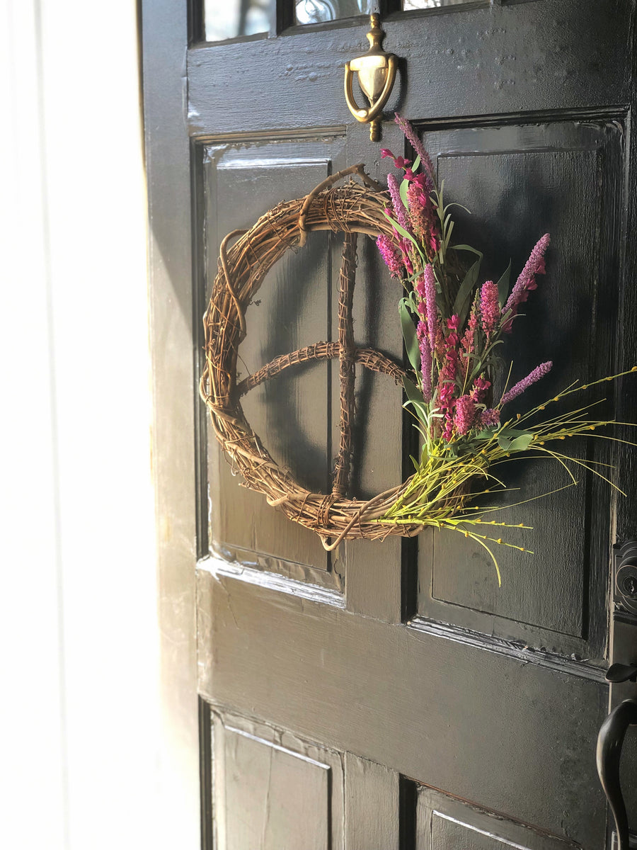 Spring Fling<br>Peace Wreath