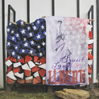 Lady Liberty American Flag | Large Wall Hanging