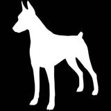 Doberman Pinscher Whole Body Car Sticker