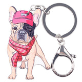 French Bulldog Key Chain