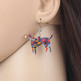 Beagle Dress Earrings