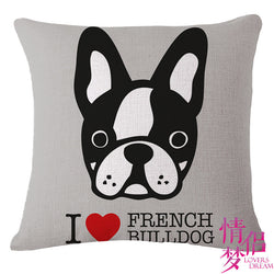 French Bulldog Decorative Pillow Case