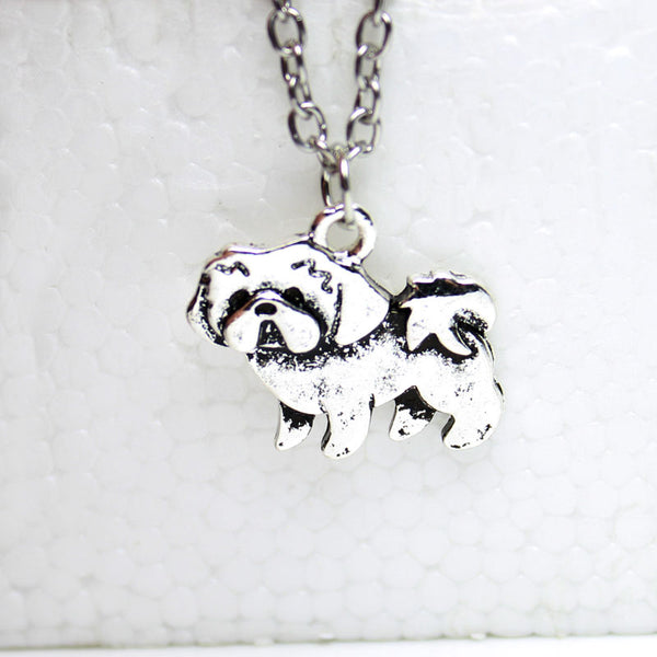 Vintage Shih Tzu Necklace