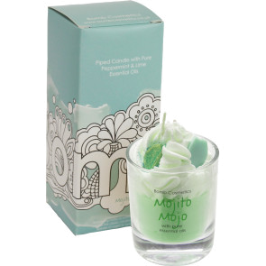 Mojito Mojo Piped Candle