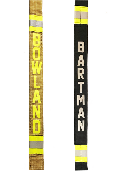 Bunker Gear Radio Strap with Lettering