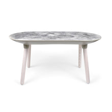 Concrete Moon Textured Bench