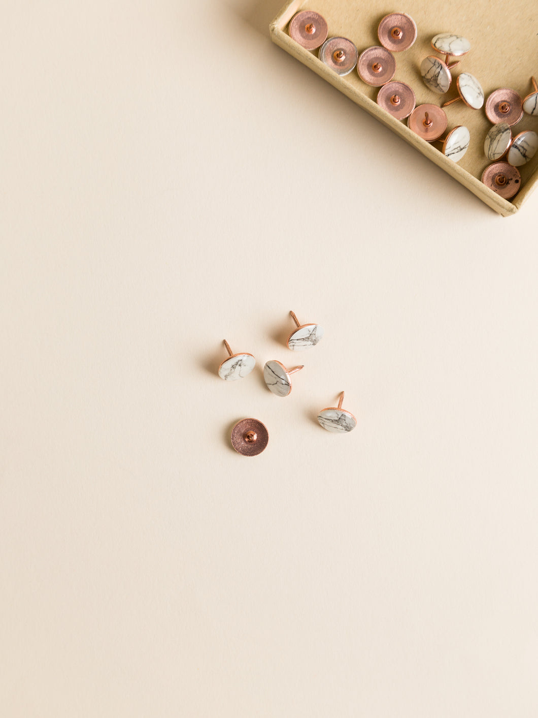 Marble Push Pins, Set of 20