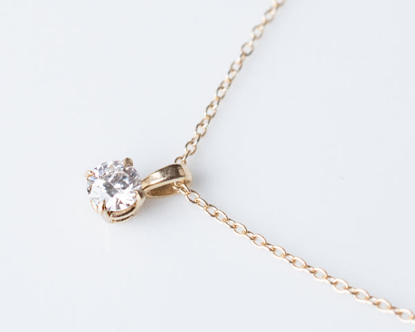 1/4 ct Diamond Pendant