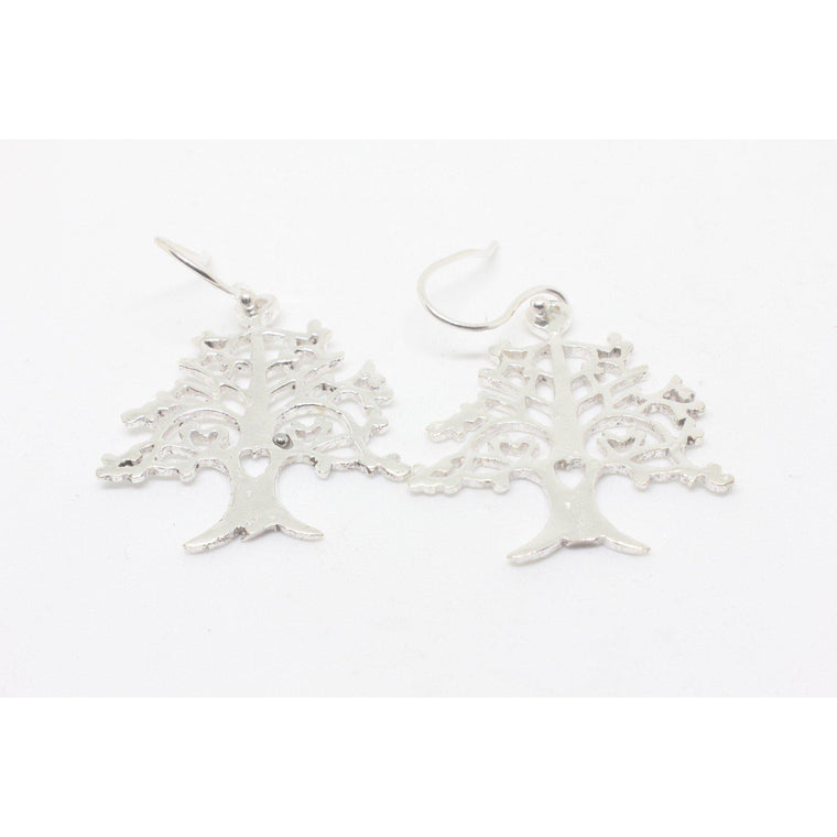 Candace Silver Plated Earrings