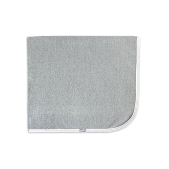 Grey Airplane Print Blanket
