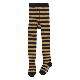 Ochre Striped Tights