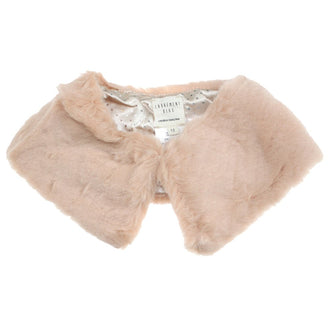 Blush Faux Fur Collar