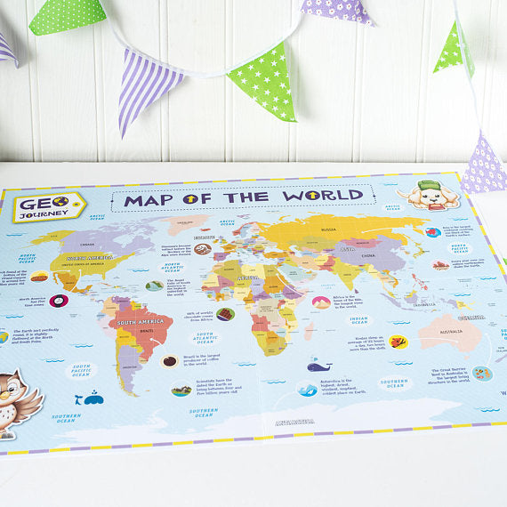 Child's World Map