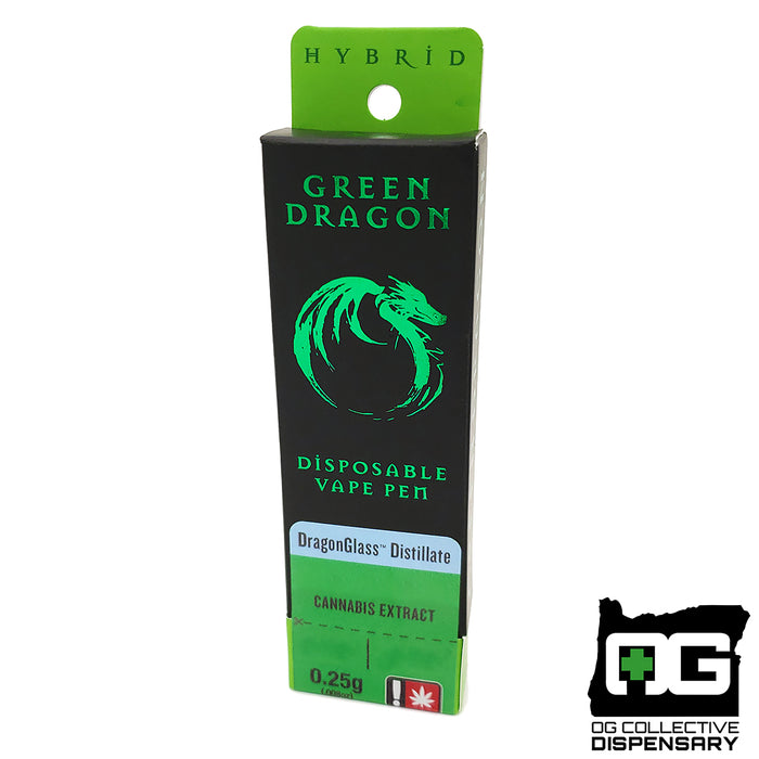 24k GOLD 1/4g DISPOSABLE PEN from GREEN DRAGON EXTRACTS [CR]