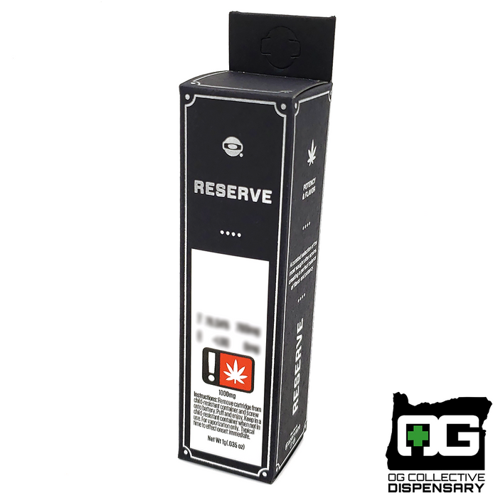 GREEN FISSURE 1g RESERVE CART. from O.penVAPE [CR]