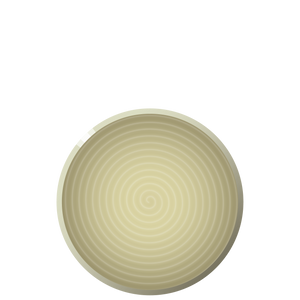 N04 ENSO Luncheon plate - Ginger, in stock