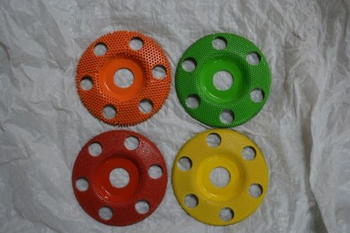 Set of 4 Donut Wheels W/Holes 7/8 Bore 4