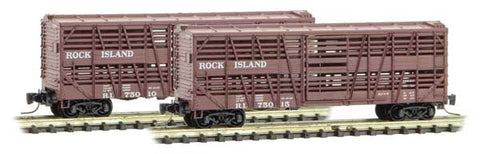 Micro-Trains Line 520 00 251 Z 40' Despatch Stock Car, Rock Island, RI, 75010