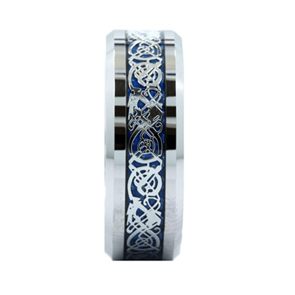 Product Exchange Page for Silver Tungsten Celtic Ring