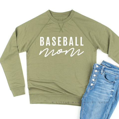 Baseball Mom - Lightweight Pullover Sweater