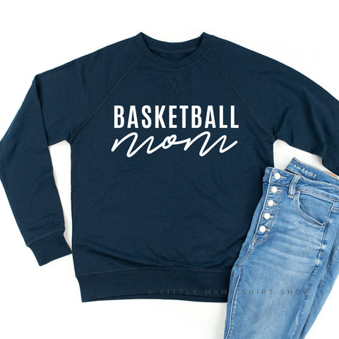 Basketball Mom - Lightweight Pullover Sweater