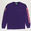 Carrots x Jungles Logo L/S Tee (Dark Purple)