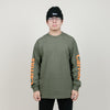 Carrots Wordmark Long Sleeve (Olive)