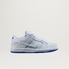 "Nike SB Dunk Low Premium ""Porcelain Pack"" (White/White-Game Royal) $95.00"