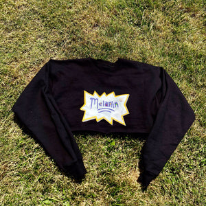 Hand Painted Melanin Crew Neck Sweatshirt
