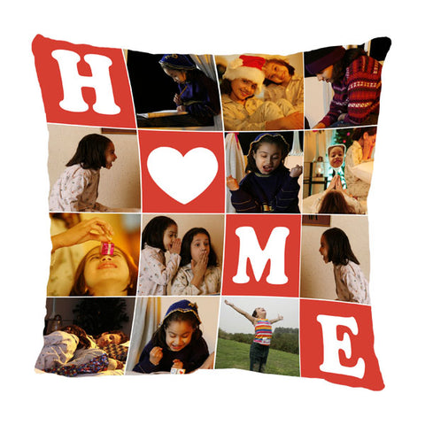 Create Custom Full Printed Photo Pillows with Front & Back Printing at Zestpics