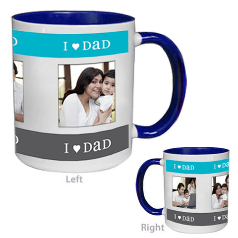 Color Inside Blue Mug-Mugs-Zestpics